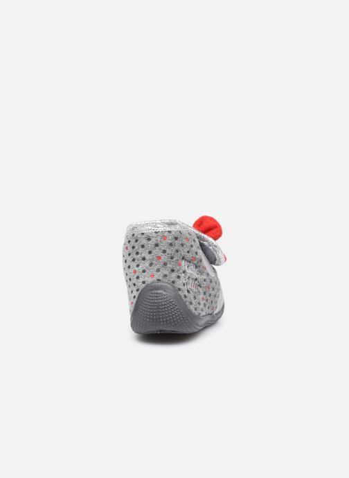 Chaussons Hello Kitty Hk Angine Gris vue droite
