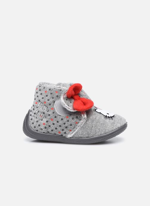 Chaussons Hello Kitty Hk Angine Gris vue derrière