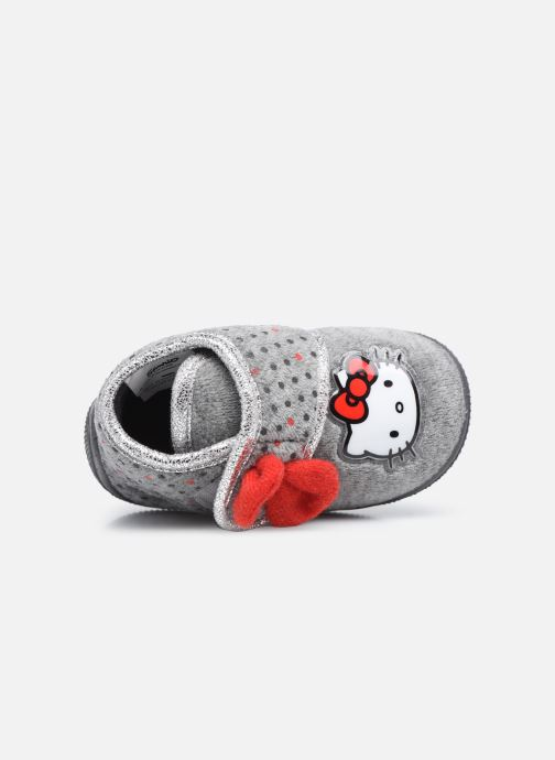 Chaussons Hello Kitty Hk Angine Gris vue gauche