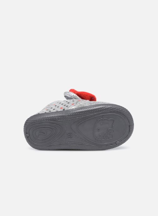 Chaussons Hello Kitty Hk Angine Gris vue haut