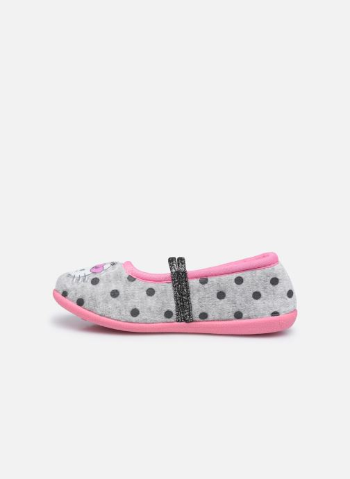Chaussons Hello Kitty Hk Cerina Gris vue face