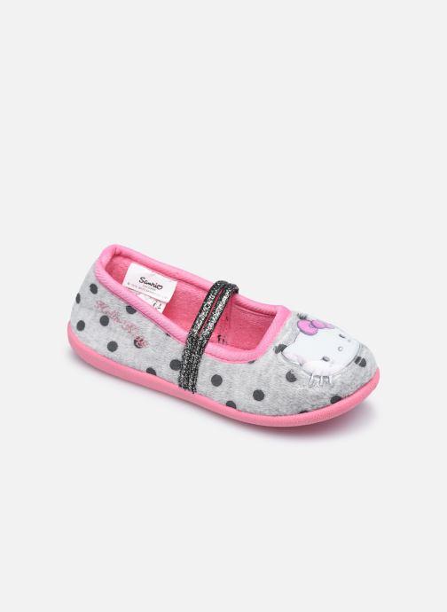 Chaussons Hello Kitty Hk Cerina Gris vue détail/paire
