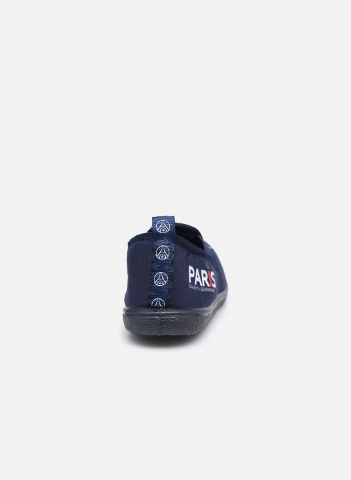 Hausschuhe PSG Carvin blau ansicht von rechts