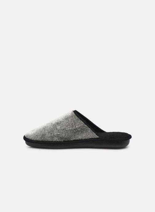 Chaussons Dim D  Viba Made in France Gris vue face