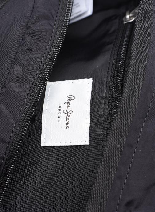 Herrentaschen Pepe jeans Leopoldo schwarz ansicht von hinten