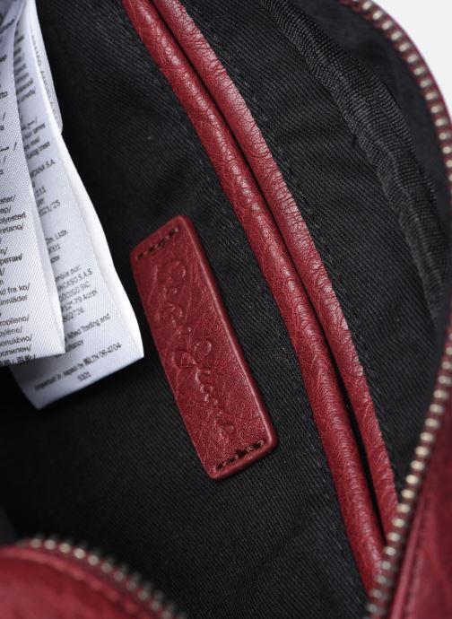 Handtaschen Pepe jeans Angela weinrot ansicht von hinten