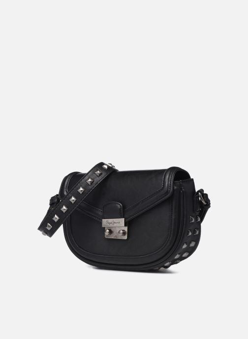 Handtaschen Pepe jeans Tina schwarz schuhe getragen