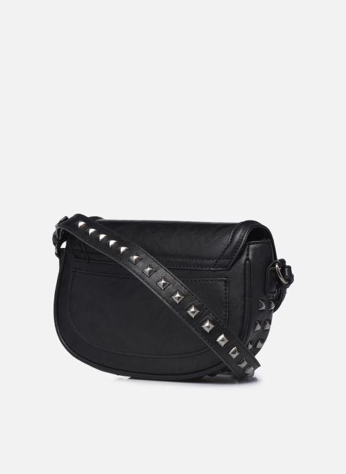 Handtaschen Pepe jeans Tina schwarz ansicht von rechts