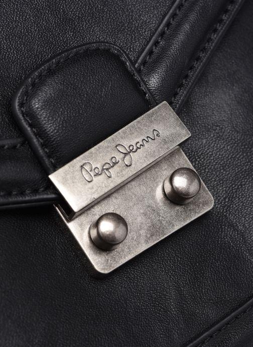 Handtaschen Pepe jeans Tina schwarz ansicht von links