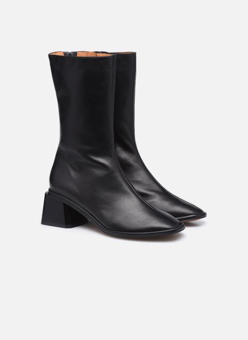 Stiefeletten & Boots Clergerie TARA schwarz 3 von 4 ansichten