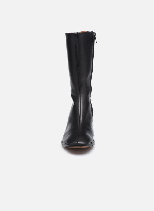 Boots en enkellaarsjes Clergerie TARA Zwart model