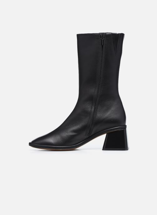 Boots en enkellaarsjes Clergerie TARA Zwart voorkant