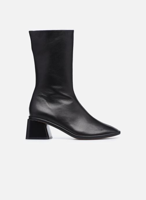 Boots en enkellaarsjes Clergerie TARA Zwart achterkant