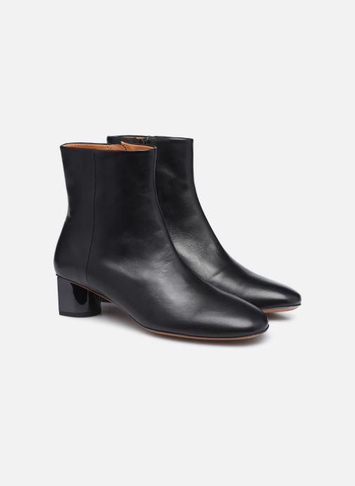 Boots en enkellaarsjes Clergerie PAIGE Zwart 3/4'