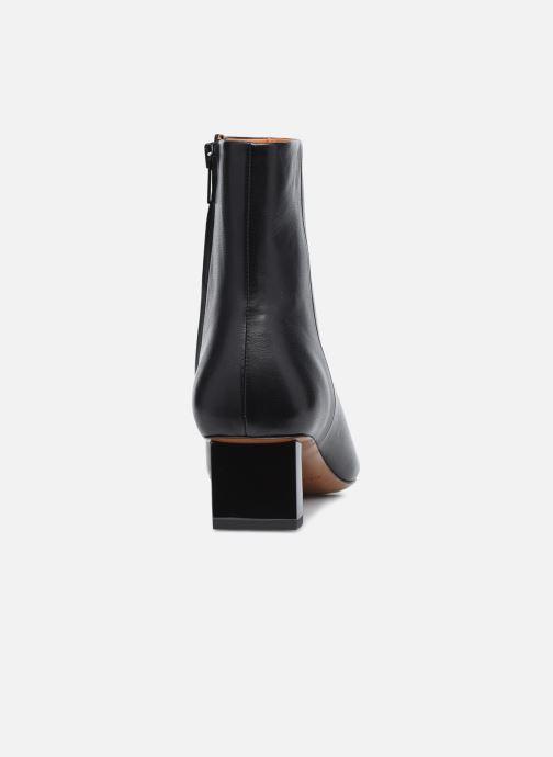 Boots en enkellaarsjes Clergerie PAIGE Zwart rechts