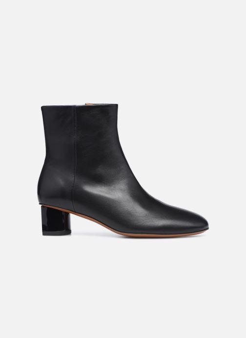 Boots en enkellaarsjes Clergerie PAIGE Zwart achterkant