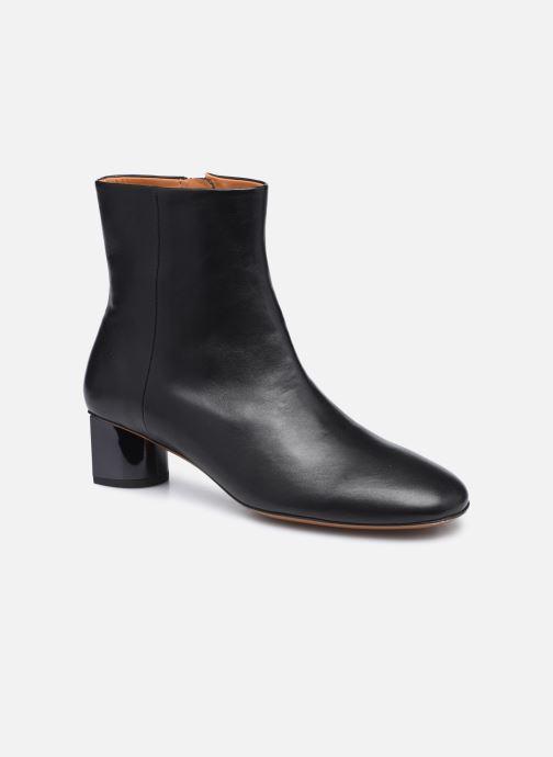 Boots en enkellaarsjes Clergerie PAIGE Zwart detail
