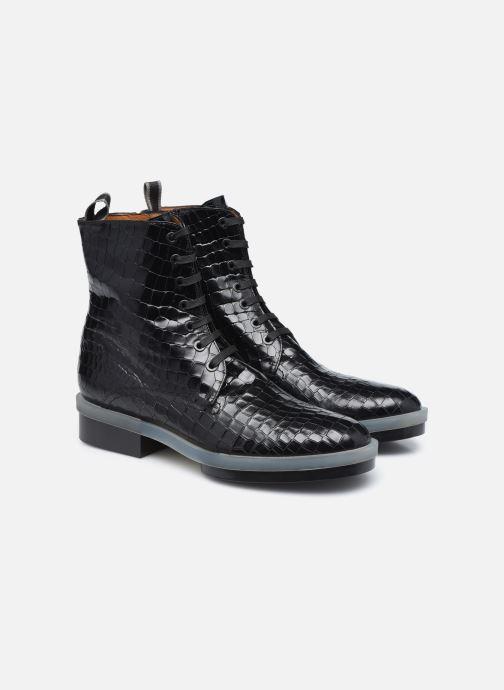 Bottines et boots Clergerie ROBYN Noir vue 3/4