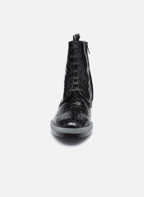 Bottines et boots Clergerie ROBYN Noir vue portées chaussures