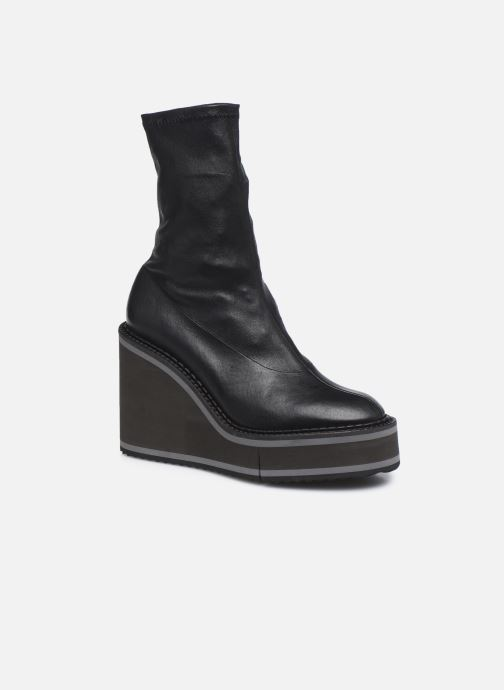 Boots en enkellaarsjes Clergerie BLISS Zwart detail