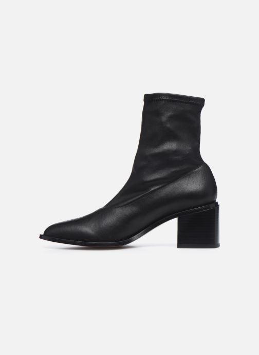 Boots en enkellaarsjes Clergerie XIA Zwart voorkant