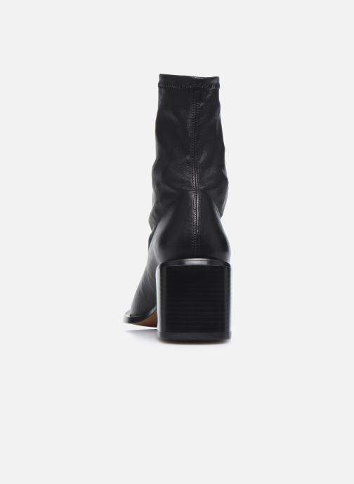 Boots en enkellaarsjes Clergerie XIA Zwart rechts