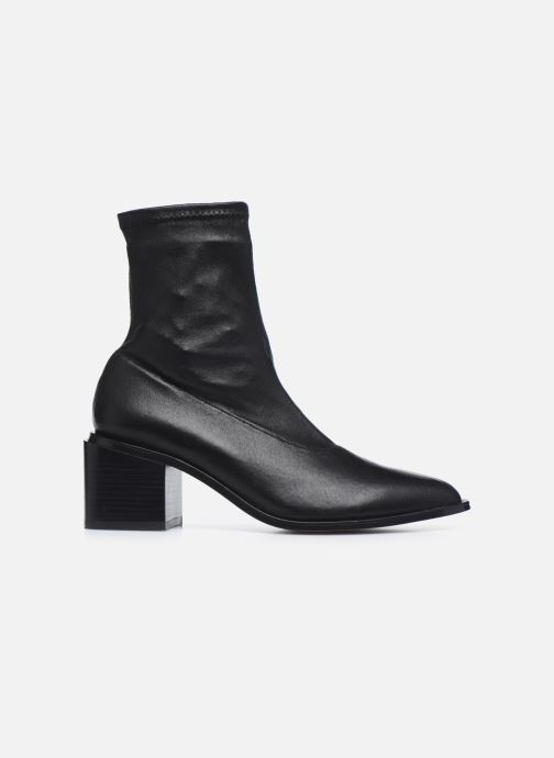 Boots en enkellaarsjes Clergerie XIA Zwart achterkant