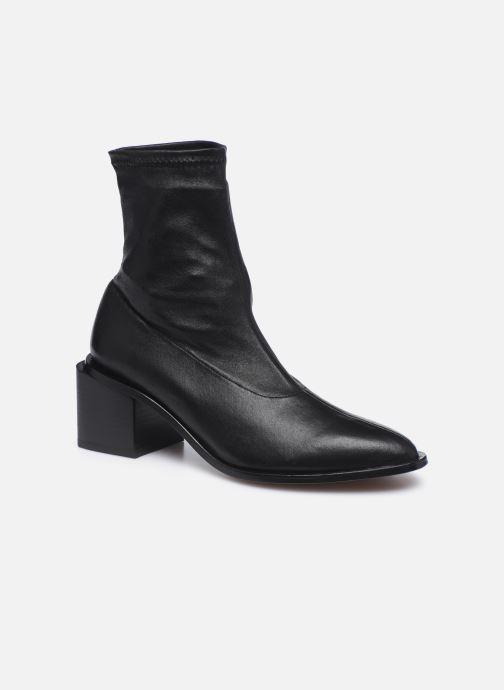 Boots en enkellaarsjes Clergerie XIA Zwart detail