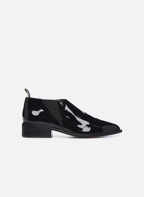Boots en enkellaarsjes Clergerie XEVER Zwart achterkant
