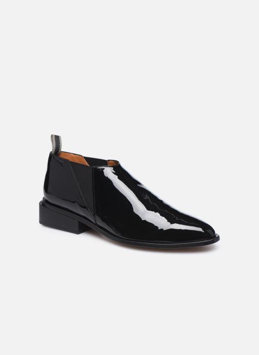 Boots en enkellaarsjes Clergerie XEVER Zwart detail