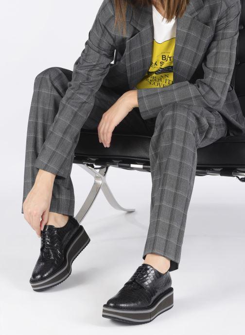 Zapatos con cordones Clergerie BROOK Negro vista de abajo