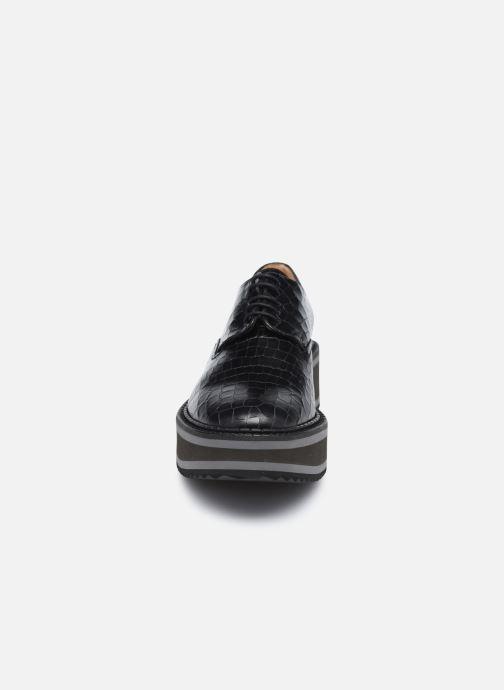 Zapatos con cordones Clergerie BROOK Negro vista del modelo