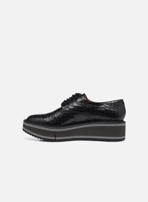 Zapatos con cordones Clergerie BROOK Negro vista de frente