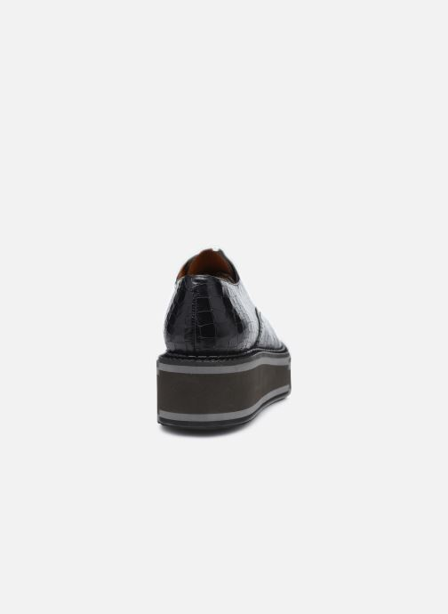 Zapatos con cordones Clergerie BROOK Negro vista lateral derecha