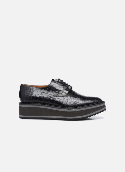 Zapatos con cordones Clergerie BROOK Negro vistra trasera