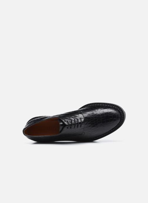 Zapatos con cordones Clergerie BROOK Negro vista lateral izquierda