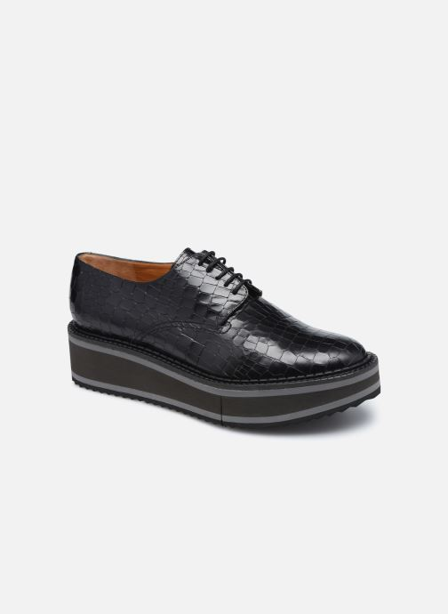 Zapatos con cordones Clergerie BROOK Negro vista de detalle / par