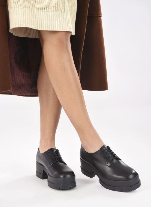 Chaussures à lacets Clergerie WONIE LIGHT Noir vue bas / vue portée sac