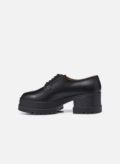 Zapatos con cordones Clergerie WONIE LIGHT Negro vista de frente