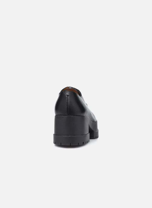 Zapatos con cordones Clergerie WONIE LIGHT Negro vista lateral derecha