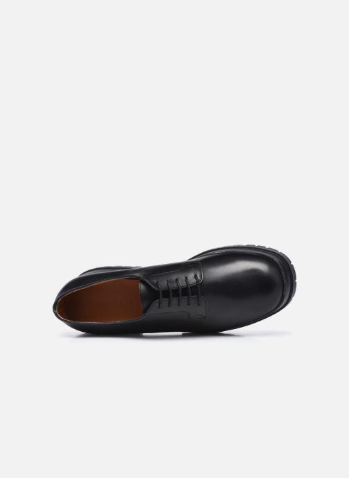 Zapatos con cordones Clergerie WONIE LIGHT Negro vista lateral izquierda