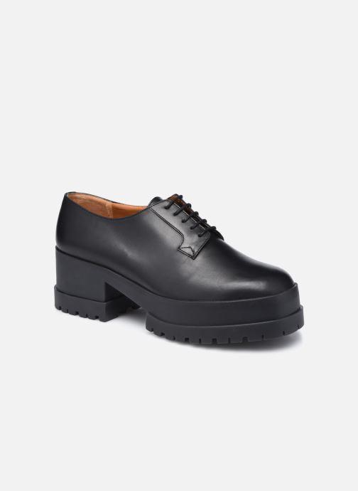 Zapatos con cordones Clergerie WONIE LIGHT Negro vista de detalle / par