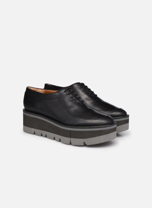 Zapatos con cordones Clergerie BREW Negro vista 3/4