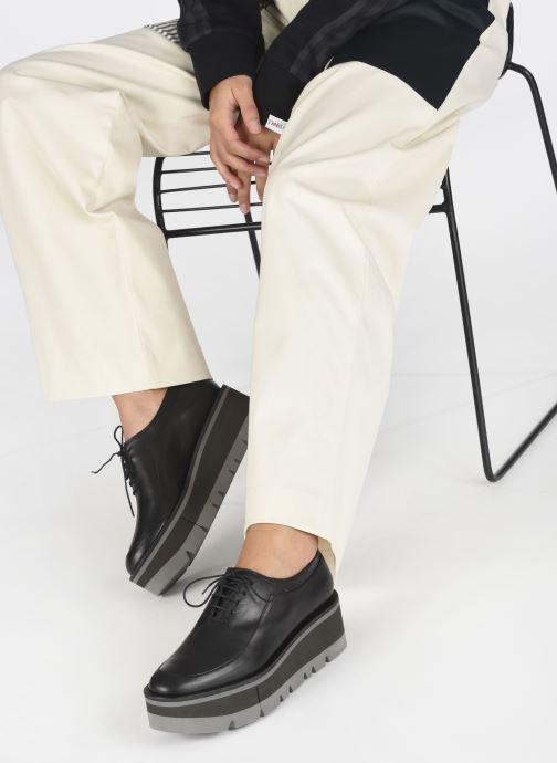 Zapatos con cordones Clergerie BREW Negro vista de abajo