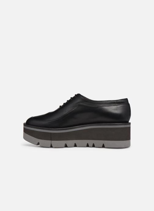 Zapatos con cordones Clergerie BREW Negro vista de frente
