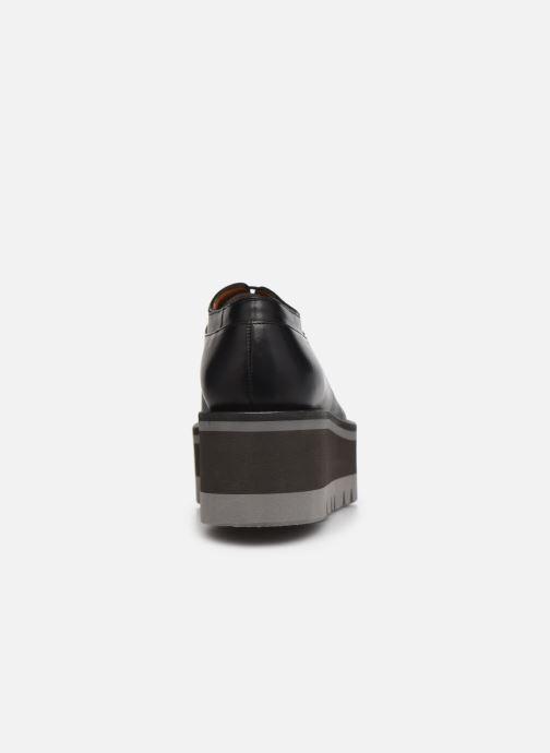 Zapatos con cordones Clergerie BREW Negro vista lateral derecha