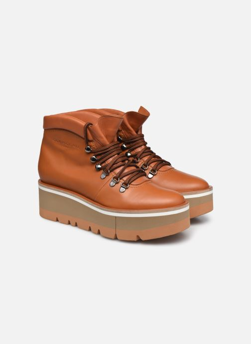 Boots en enkellaarsjes Clergerie BUBBLE Bruin 3/4'