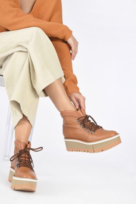 Boots en enkellaarsjes Clergerie BUBBLE Bruin onder