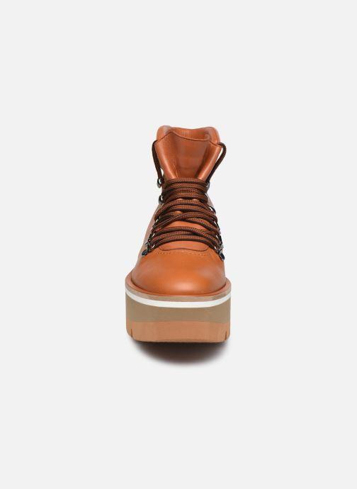Boots en enkellaarsjes Clergerie BUBBLE Bruin model