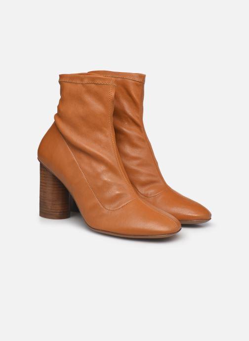 Boots en enkellaarsjes Clergerie JONASE STRETCH Bruin 3/4'